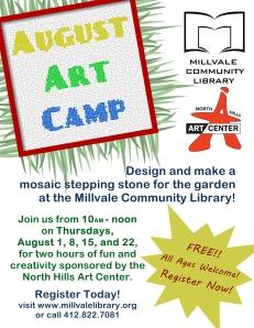 2013 Art Camp Poster